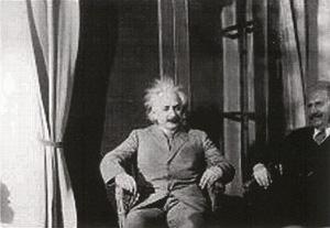 Einstein on the Veranda