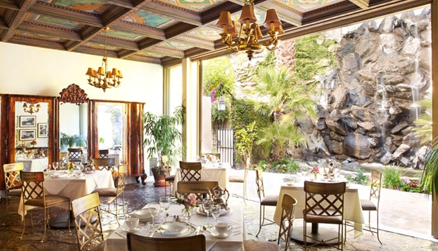 Resort Waterfall Dining Room