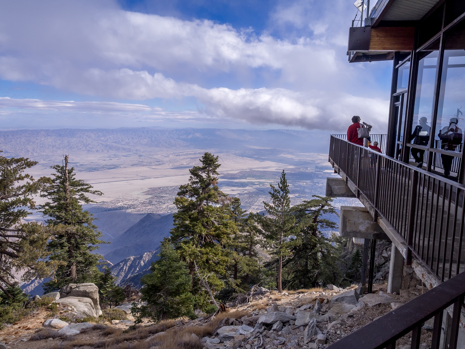 Cool off at the top of San Jacinto Peak in Palm Springs