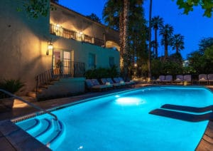 Cool off at the top of San Jacinto Peak or relaxing Poolside at our Palm Springs Luxury Hotel
