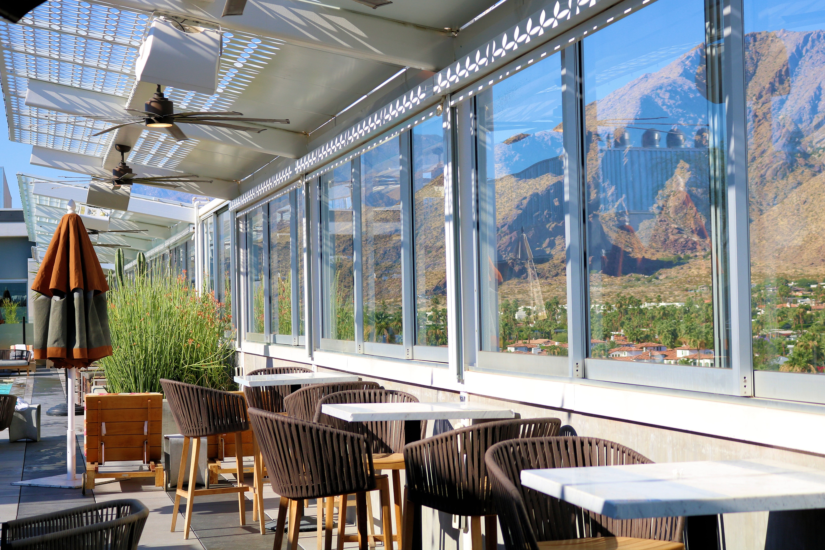 Restaurants in Palm Springs comprise a dining scene that's gathering national notice for its sophistication.